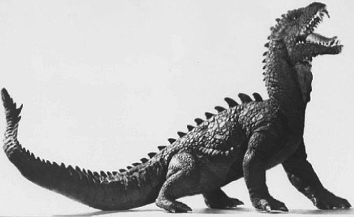 The Beast from twenty thousand fathoms model