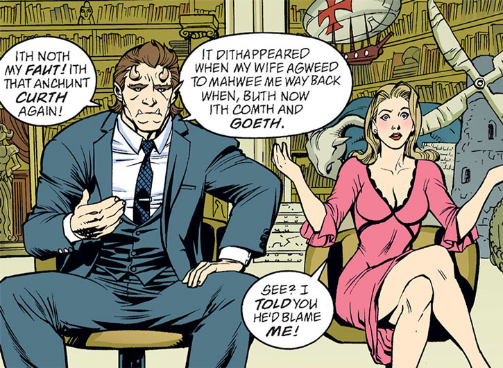 Beauty and the Beast in the Fables comics