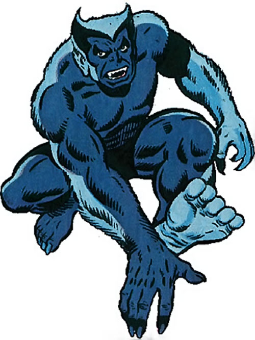Beast (Marvel Comics) (Defenders) ambulating
