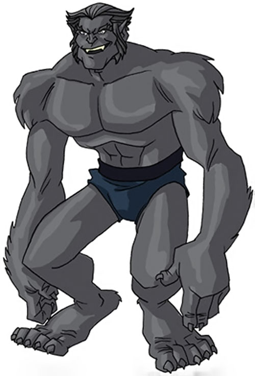 Beast (Marvel Comics) (X-Men) by RonnieThunderbolts 2/10