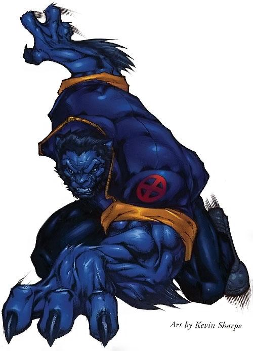 Beast (Marvel Comics) (X-Men) by Kevin Sharpe