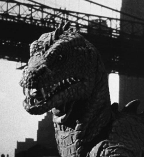 Beast from 20000 fathoms head and bridge