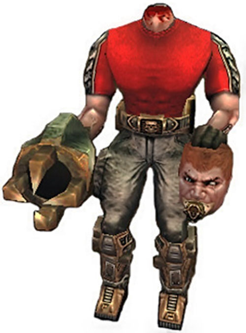 Beheaded Firecracker in the Serious Sam video games