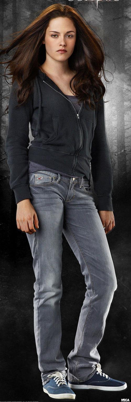 Bella Swan (Kristen Stewart in Twilight) (Early) jeans and hoodie