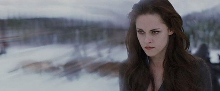 Bella Swan (Kristen Stewart) using her powers