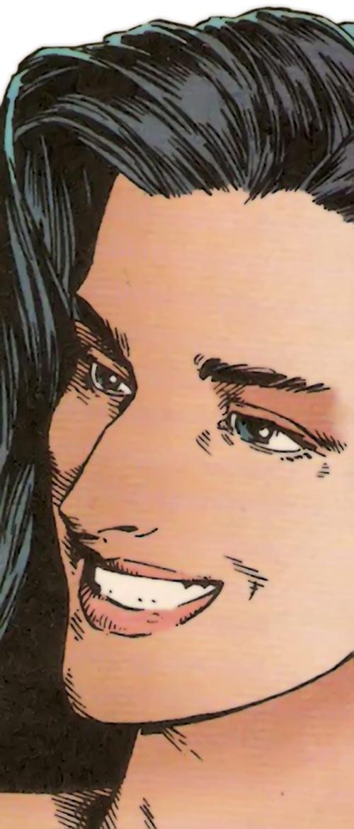 Benazir Kaur (Hellfire Club White Queen) (X-Men enemy) (Marvel Comics)