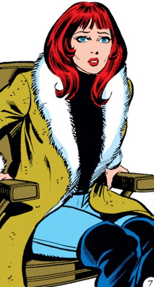 Bethany Cabe (Marvel Comics) shocked
