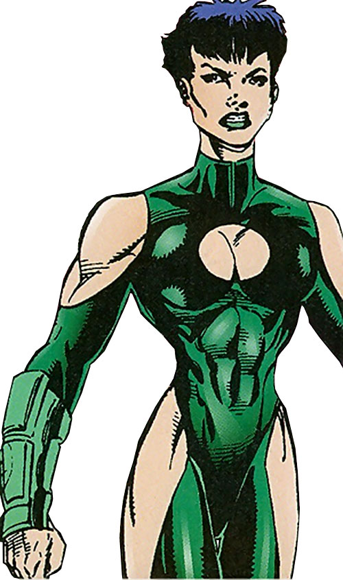Bia (Sovereign 7 enemy) (DC Comics)