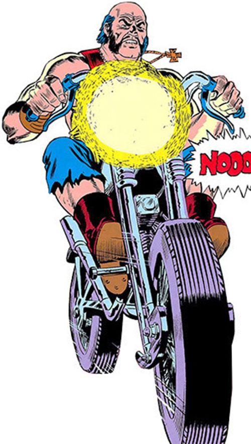 Big Daddy Dawson (Ghost Rider enemy) on his bike
