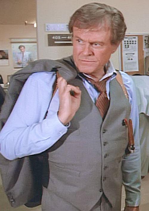 Bill Maxwell (Robert Culp in Greatest American Hero)