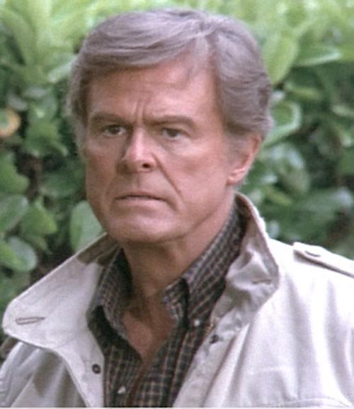 Bill Maxwell (Robert Culp in Greatest American Hero) with beige jacket