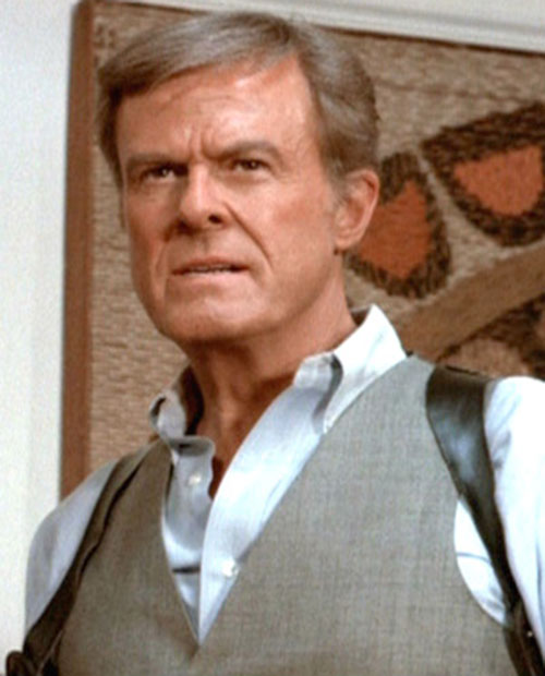 Bill Maxwell (Robert Culp in Greatest American Hero) face closeup
