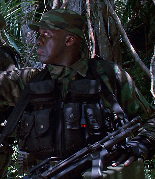 Mac Eliot (Bill Duke in Predator)
