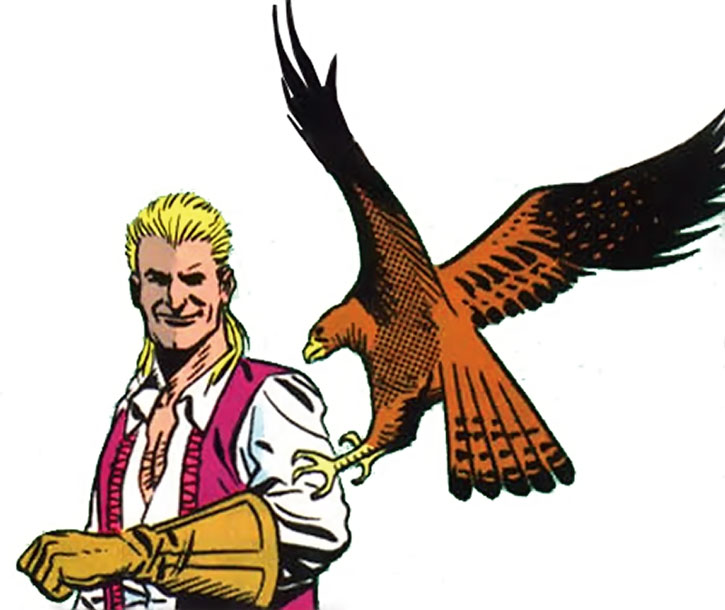 Bird (Bane's lieutenant) and raptor