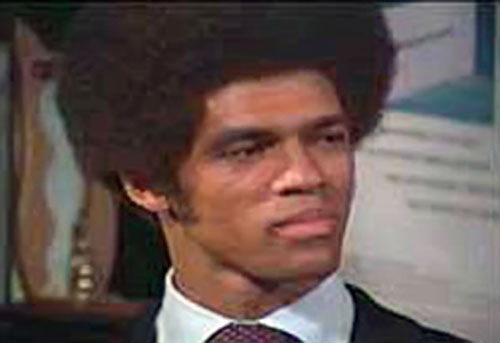 Jim Kelly as Black Belt Jones, face closeup