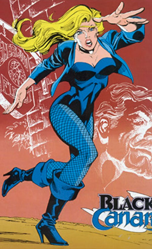Black Canary (DC Comics) from the loose leaves Who's Who