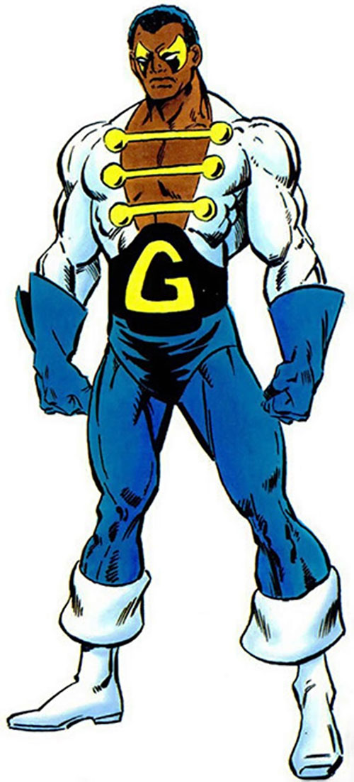Black Goliath aka Giant-Man (Bill Foster) (Marvel Comics)