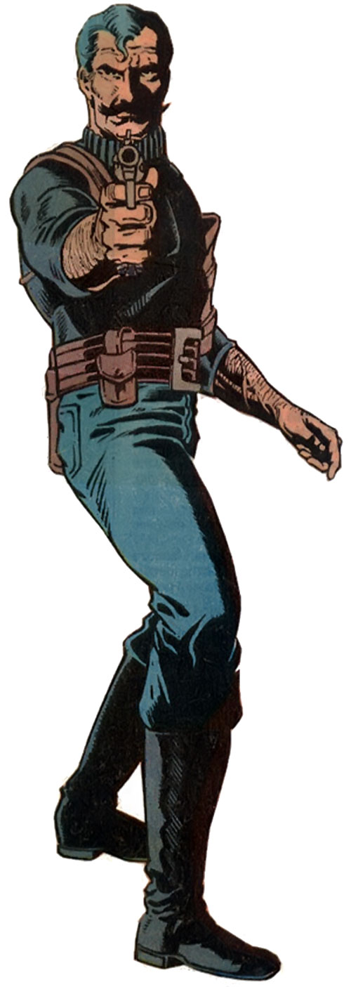 Black Jack Tarr as a MI6 agent