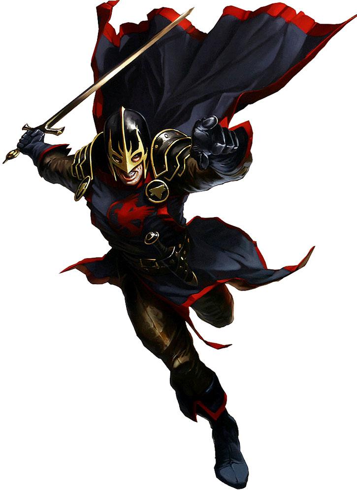 Djurdjevic art of the Black Knight (Dane Whitman)
