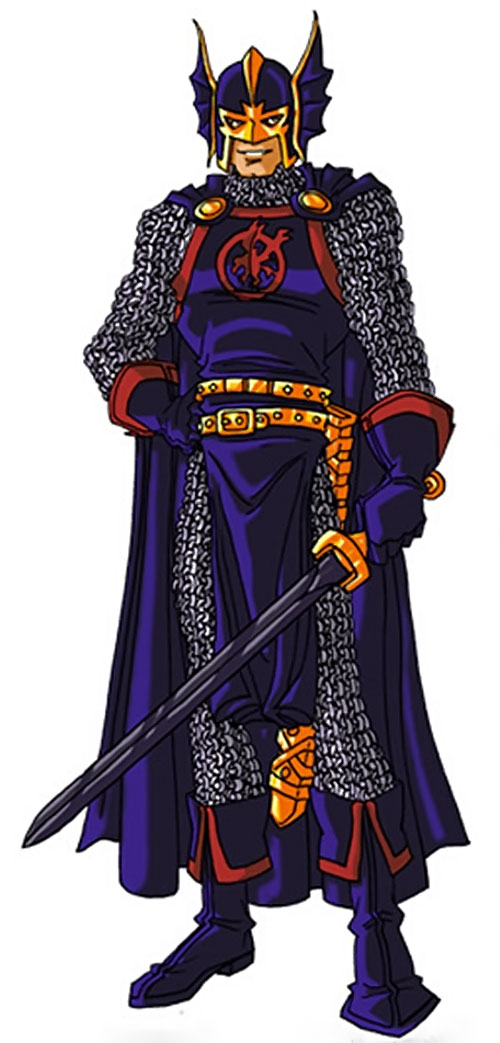Black Knight of the Avengers (Dane Whitman) (Marvel Comics) by RonnieThunderbolts 3/8