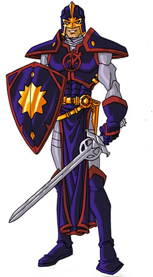Black Knight of the Avengers (Dane Whitman) (Marvel Comics) by RonnieThunderbolts 8/8