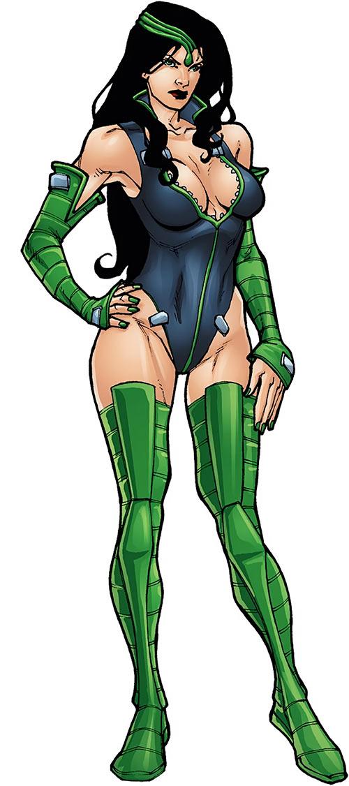 Black Mamba (Marvel Comics) from the Captain America handbook
