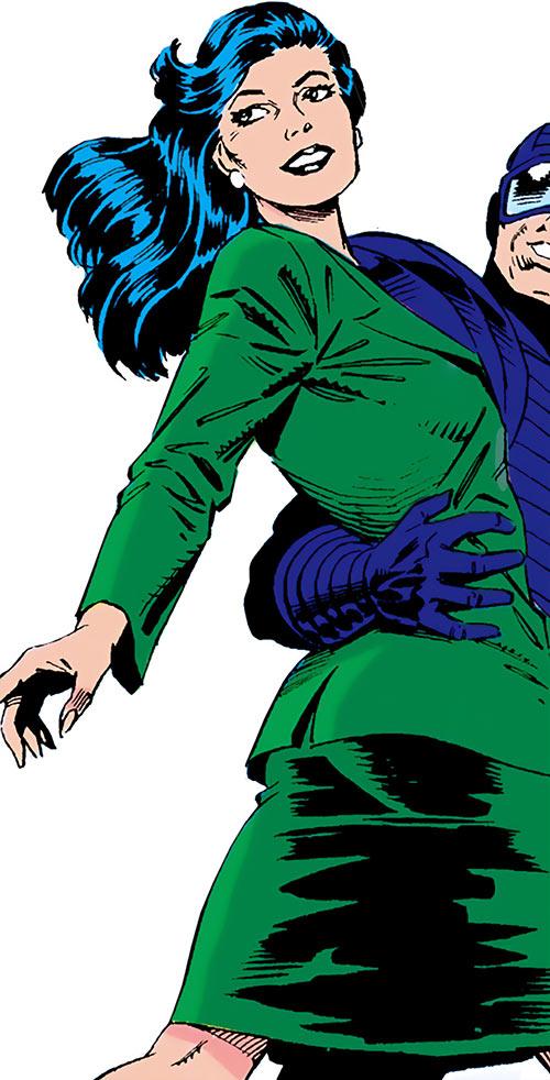 Black Mamba (Marvel Comics) in her civvies
