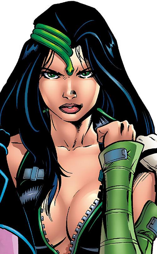Black Mamba (Marvel Comics) portrait