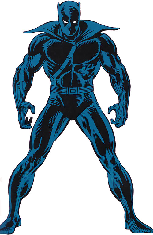 Black Panther (Marvel Comics) from the older handbook