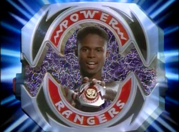Black Ranger Zack Taylor (Walter Jones in Mighty Morphin Power Rangers) power morpher