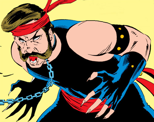 Black Rook of the Hellfire Club (von Roehm) (X-Men enemy) (Marvel Comics)