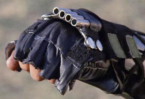 Black Star Ninja (Tadashi Yamashita in American Ninja) wrist weapon