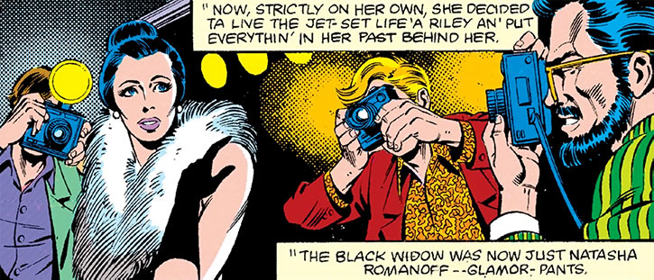 The Black Widow attempts to retire