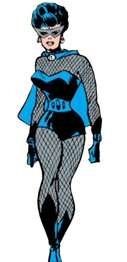 Black Widow (Romanoff) during the 1960s (Marvel Comics) walking and swaying