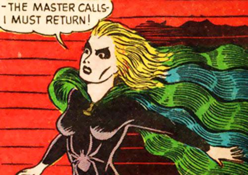 Black Widow (Marvel Comics) (Claire Voyant) vintage art