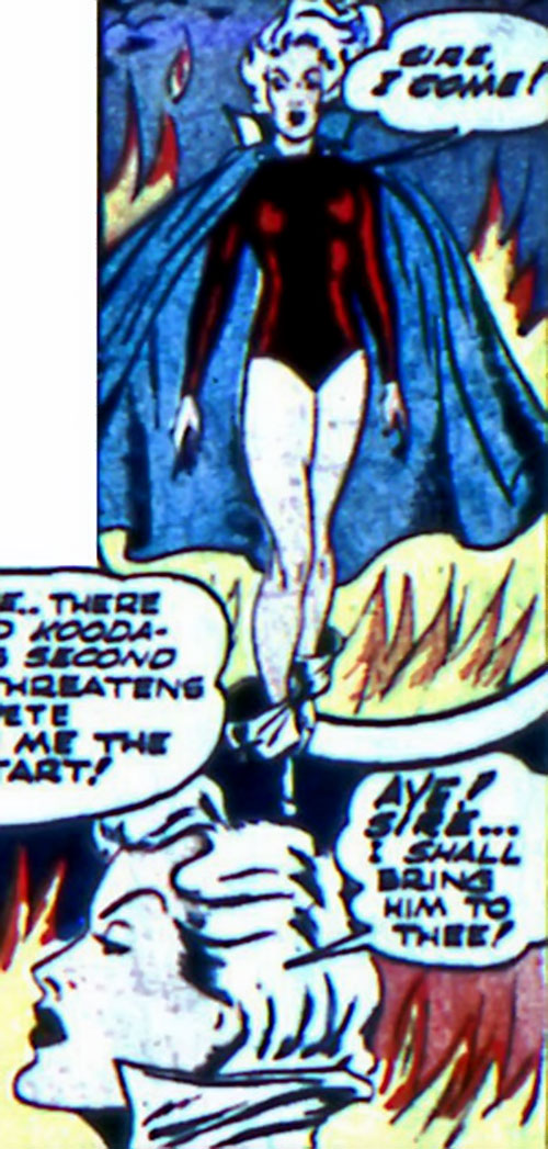 Black Widow (Marvel Comics) (Claire Voyant) in Hell