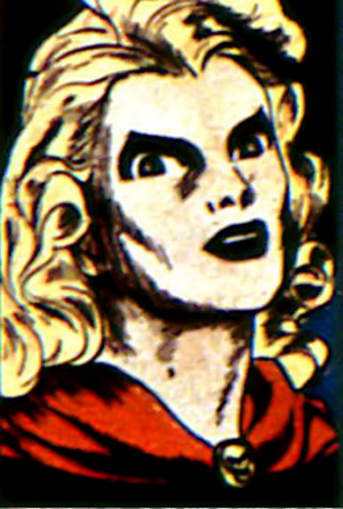Black Widow (Marvel Comics) (Claire Voyant) sinister closeup