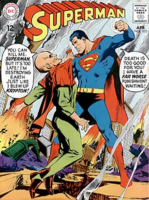 Black Zero vs. Superman cover art