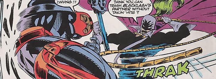 Blacklash vs. Night Thrasher