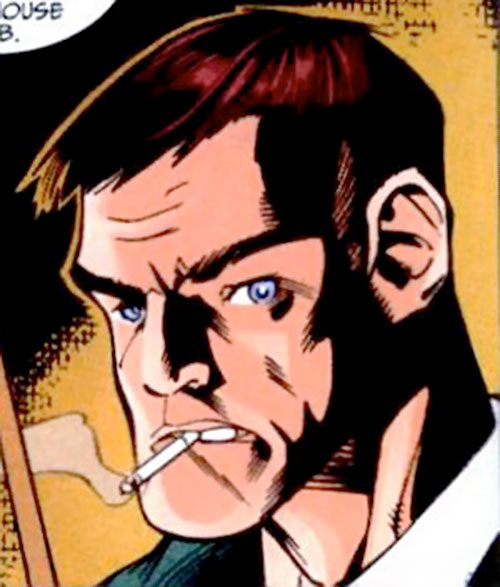 Blackwing (Marvel Comics) (Manfredi) face closeup