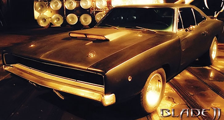 Blade's Charger car