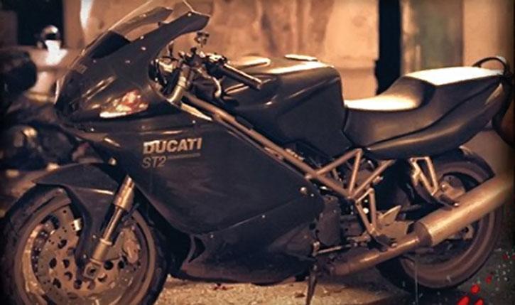 Blade's Ducati ST2