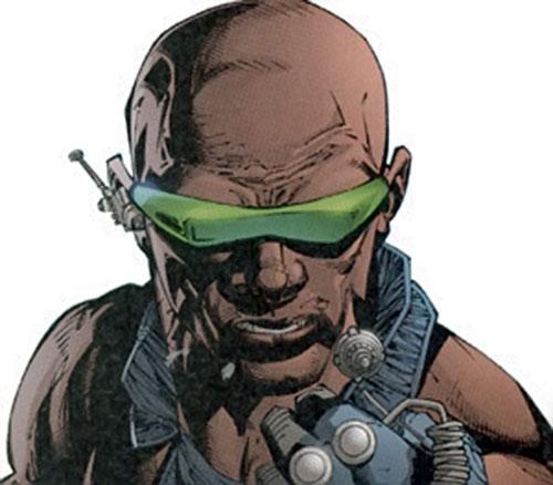Blake Coleman of Stormwatch Team Achilles (Wildstorm comics) face closeup