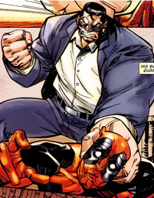 Blok (Mister X bodyguard) (Marvel Comics) vs. Deadpool