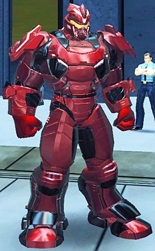 Bloodforce power armor (DC Heroes RPG)