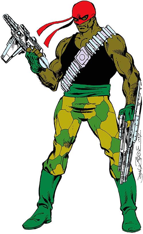Bloodsport (Dubois) (Superman enemy) (DC Comics) Who's Who
