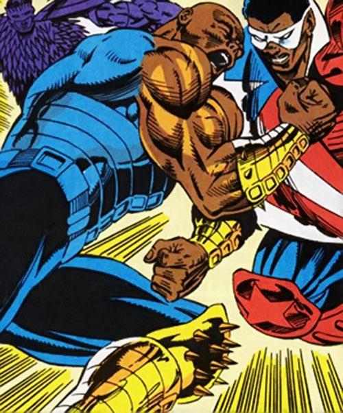 Bludgeon (Captain America enemy) (Marvel Comics) vs. Battlestar