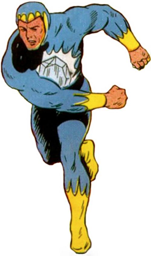 Blue Diamond (Marvel Comics) vintage art