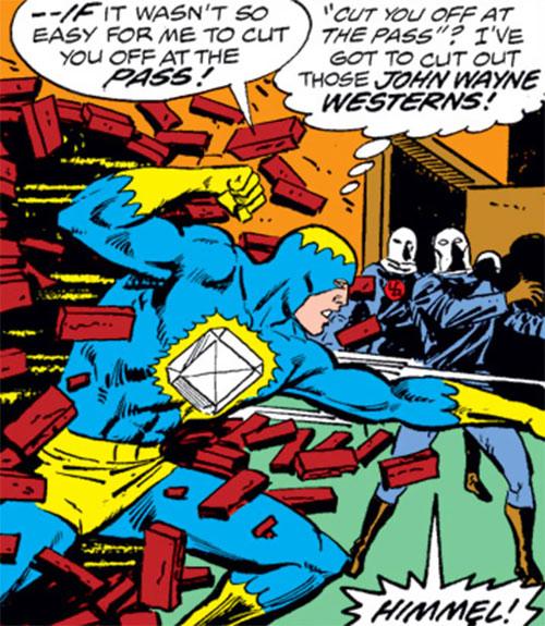 Blue Diamond (Marvel Comics) vs. Nazis