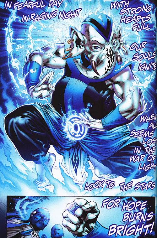 Warth of the Blue Lantern Corps